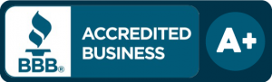 Accredited Business badge with BBB