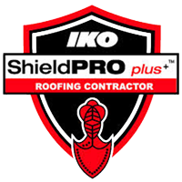 IKO-ShieldPRO-Plus-Roofing-Contractor-badge-square