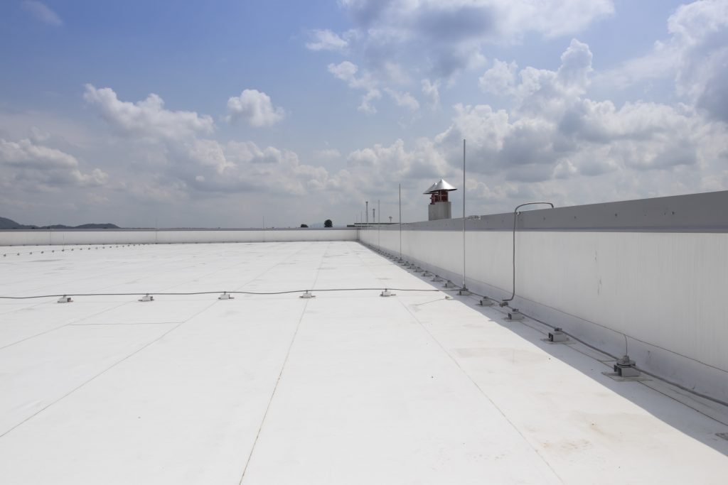 Thermoplastic Membrane Flat Roof